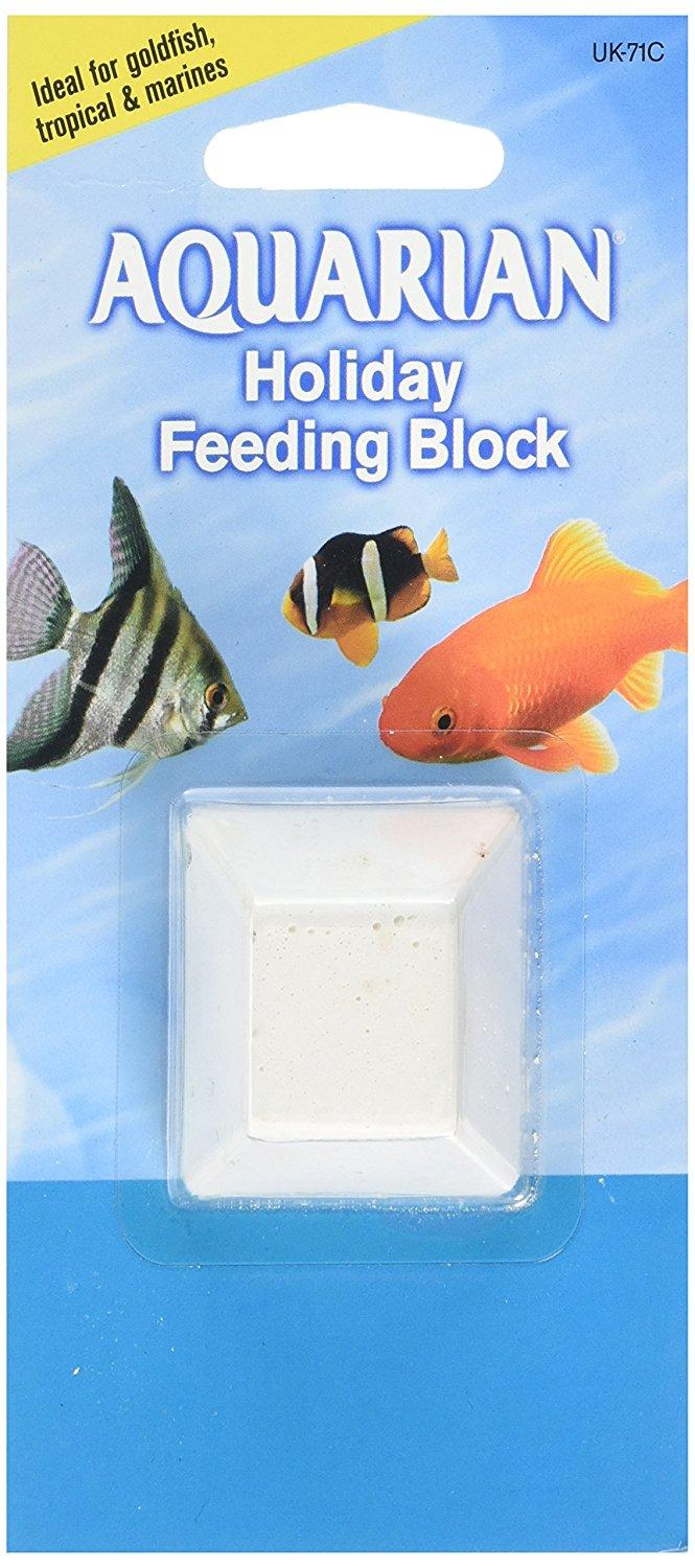A package containing one single AQUARIAN holiday feeding block